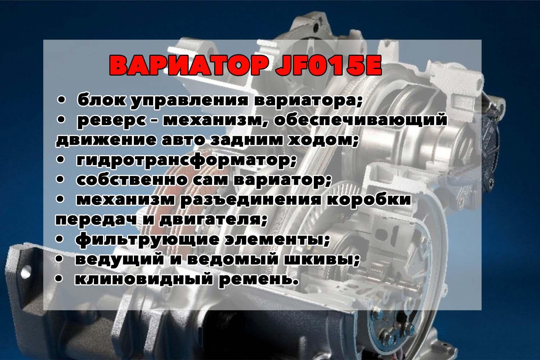 Особенности устройства вариатора Рено Каптур 1.6 (2)