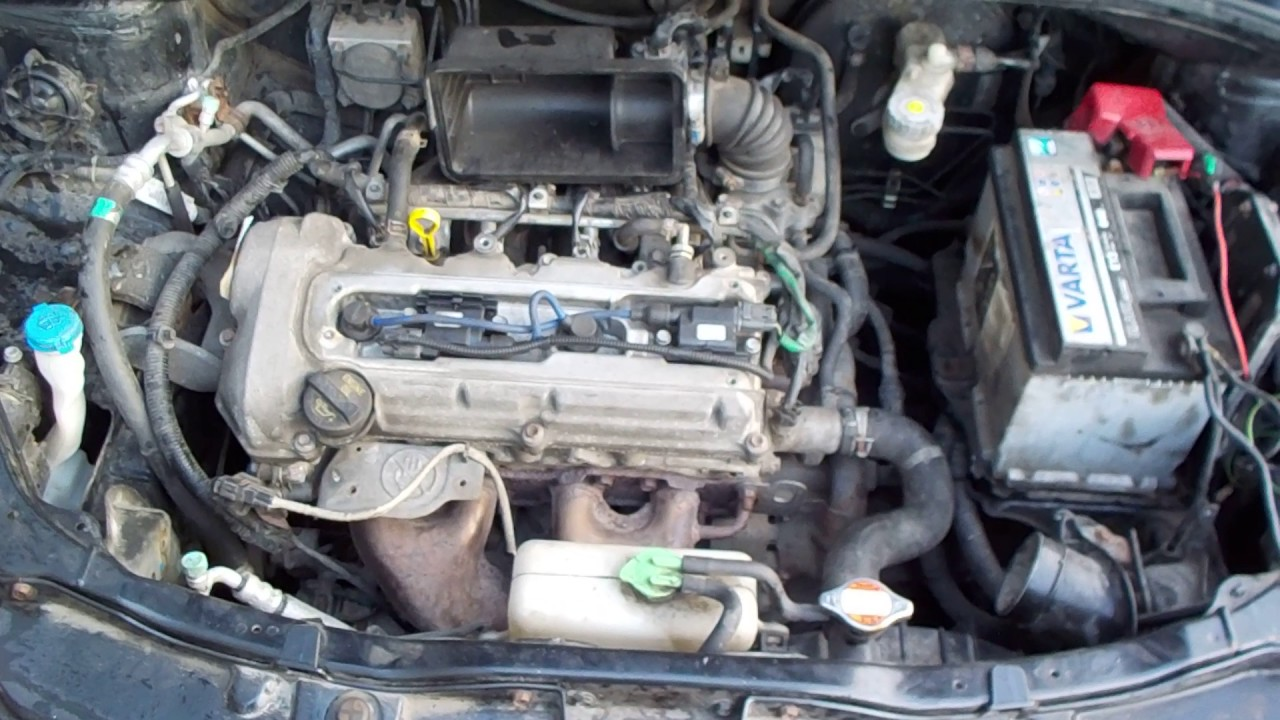 двигатель Сузуки СХ4