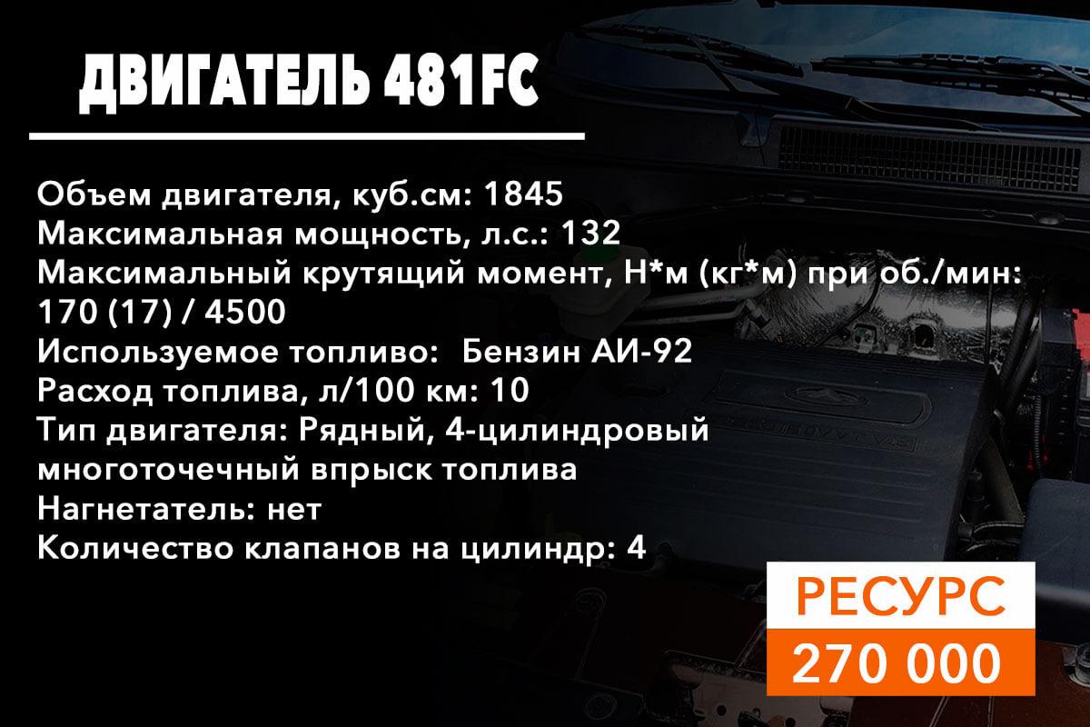 двигатель 481FC