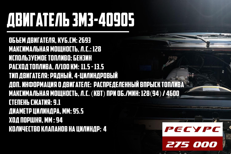 ресурс двигателя ЗМЗ-40905