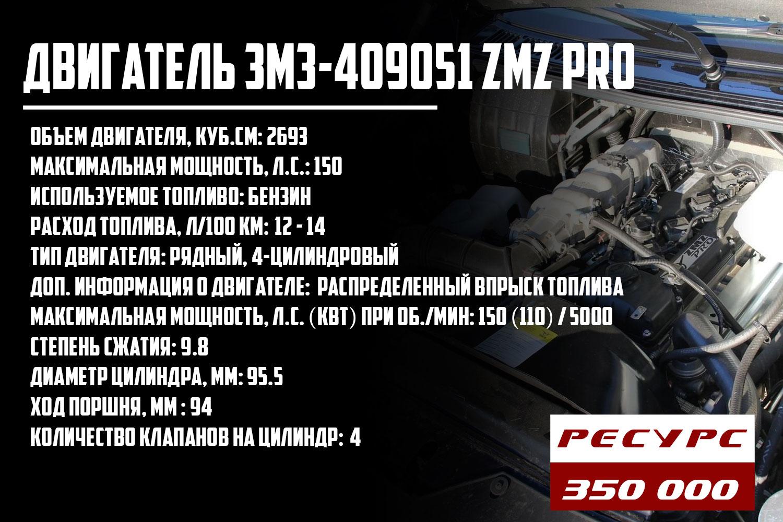 ЗМЗ-409051 ZMZ Pro