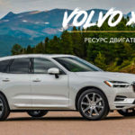 Ресурс двигателя Volvo XC60 2.0, 2.4, 2.5, 3.0, 3.2