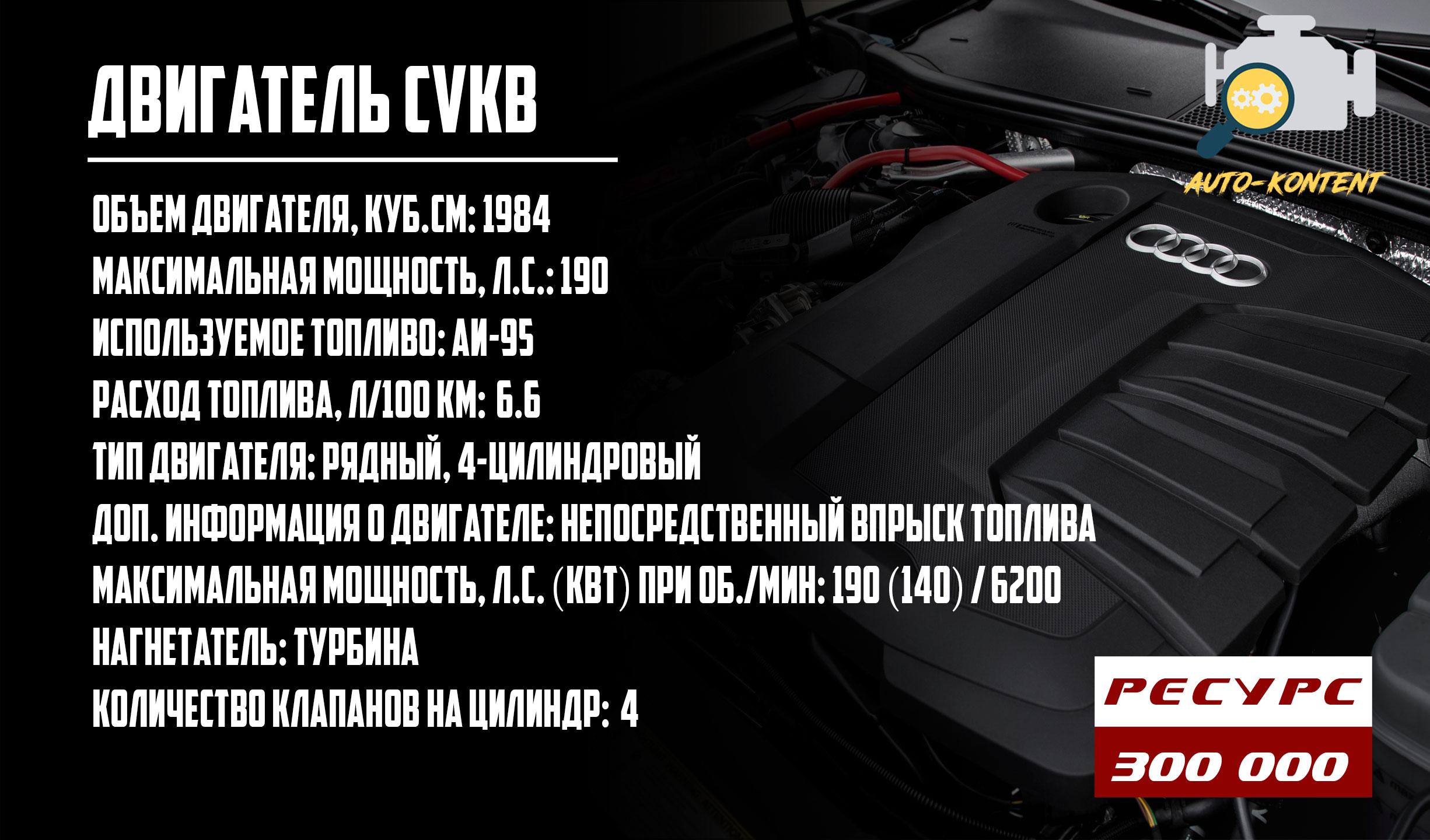 двигатель CVKB