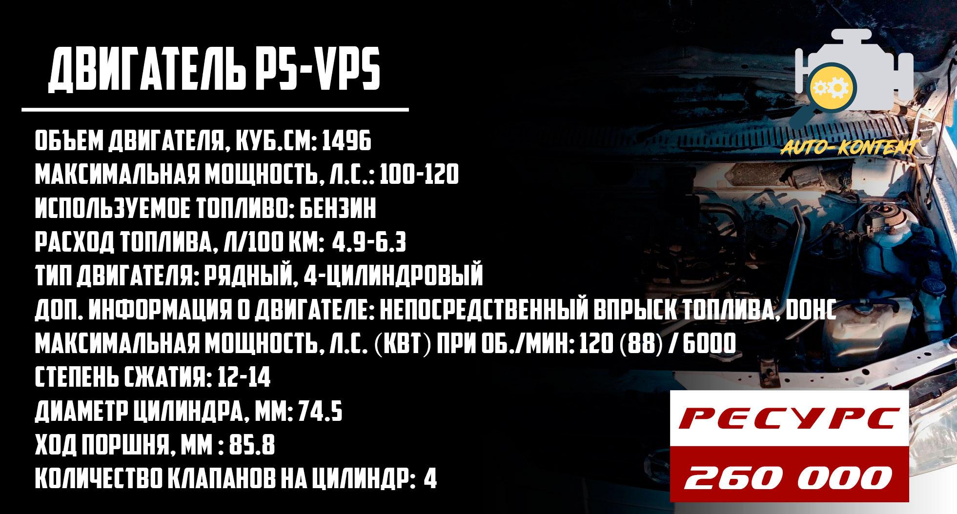 двигатель P5-VPS